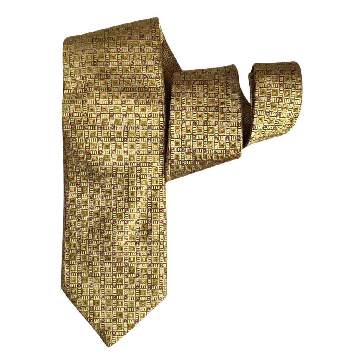 Chopard - Cravates   pour homme en soie - dore