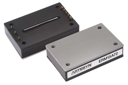 Artesyn Embedded Technologies ERM75 75W Isolated DC-DC Converter Through Hole, Voltage in 66 → 160 V dc, Voltage