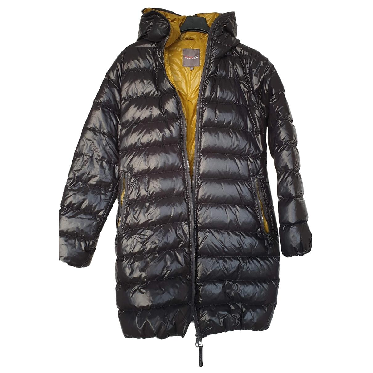 Duvetica \N Black coat for Women 44 IT