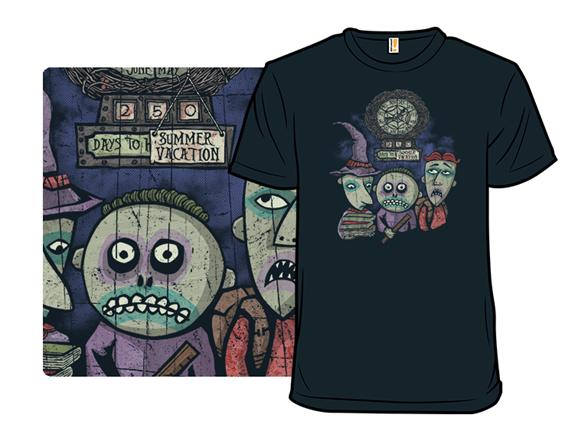 Nightmare Before Summer Vacation T Shirt