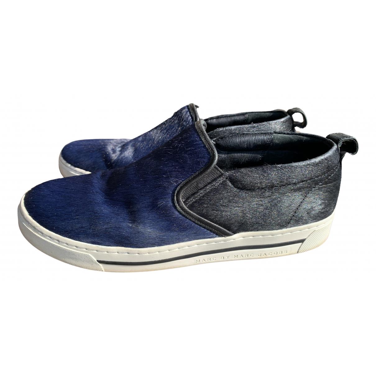 Marc By Marc Jacobs \N Sneakers in  Blau Fell