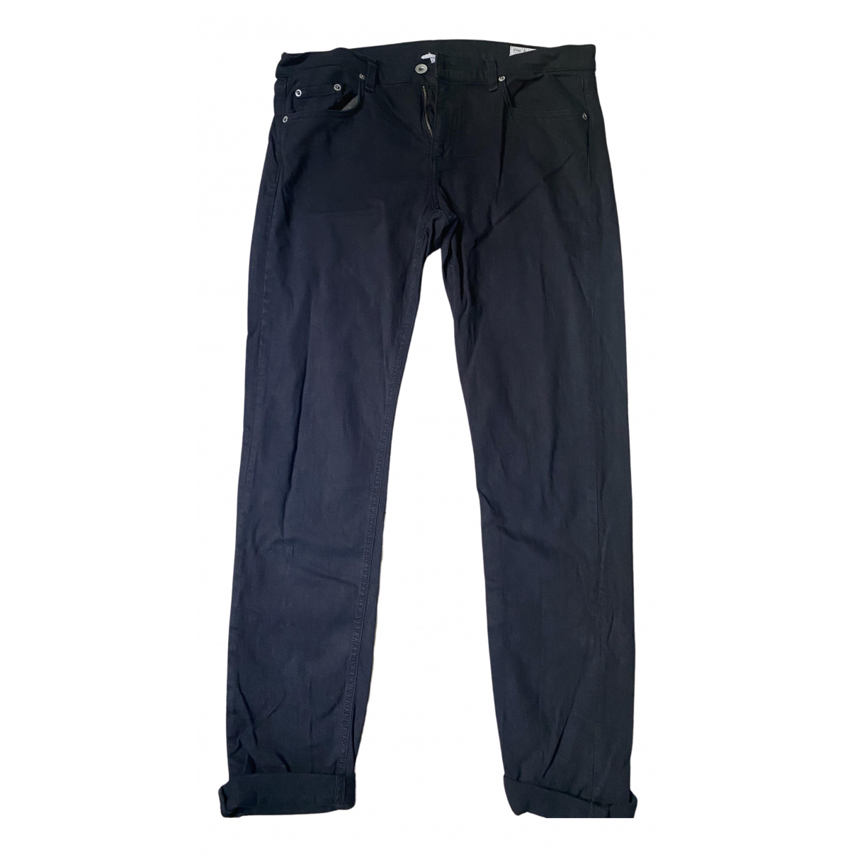 Rag & Bone N Black Cotton - elasthane Jeans for Women 31 US