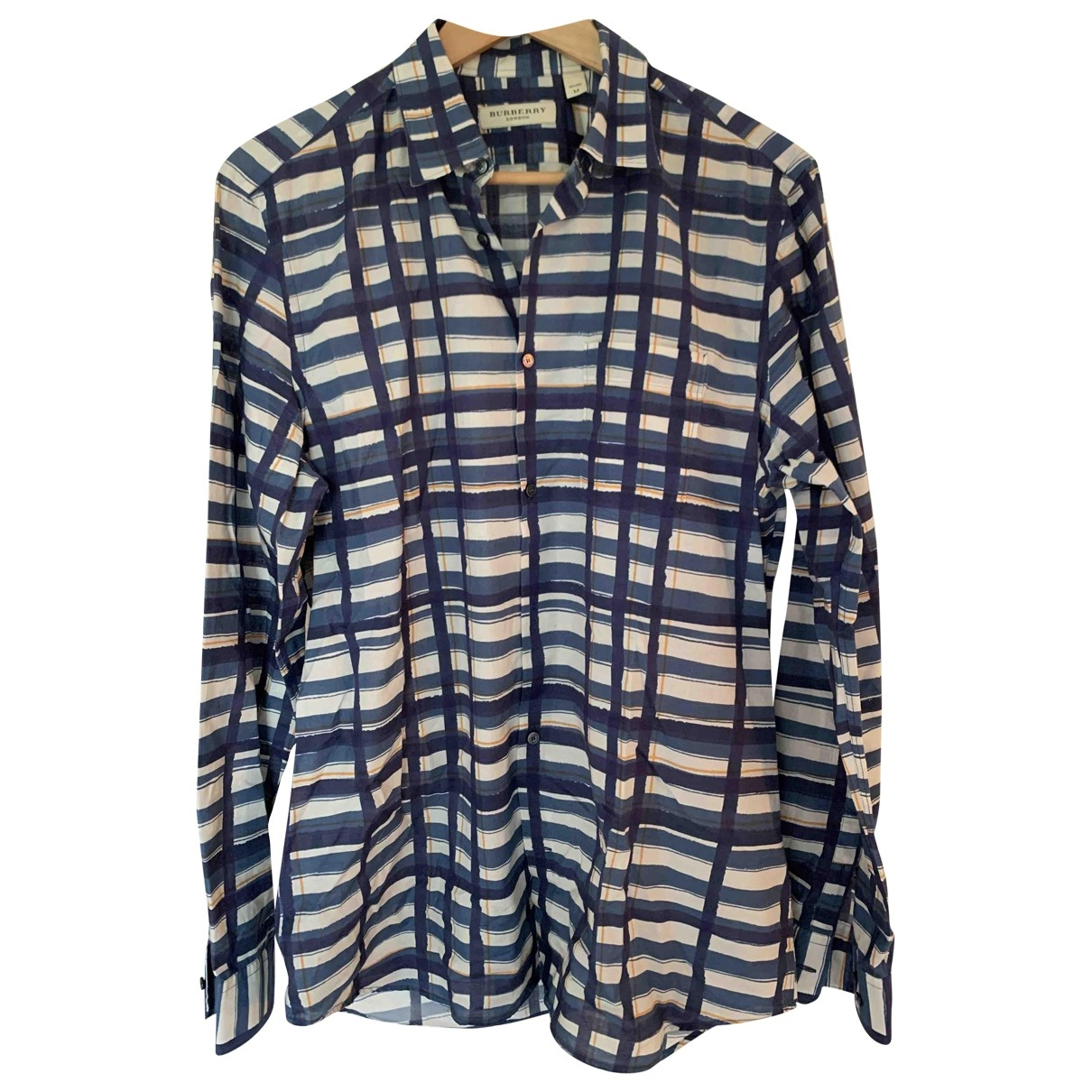 Burberry \N Multicolour Cotton Shirts for Men M International