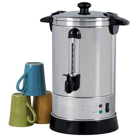 Nesco CU-30 30-Cup Stainless Steel Coffee Urn, One Size , No Color Family