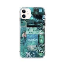 iPhone Schutzhuelle mit aesthetischer Collage Muster
