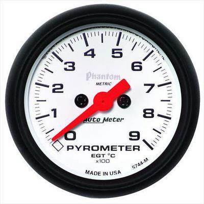 Auto Meter Phantom Electric Pyrometer Gauge Kit - 5744-M