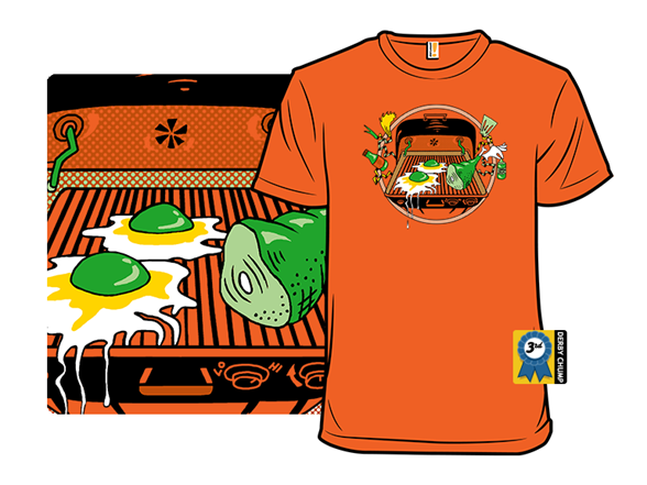 I Like Them On The Grill T Shirt