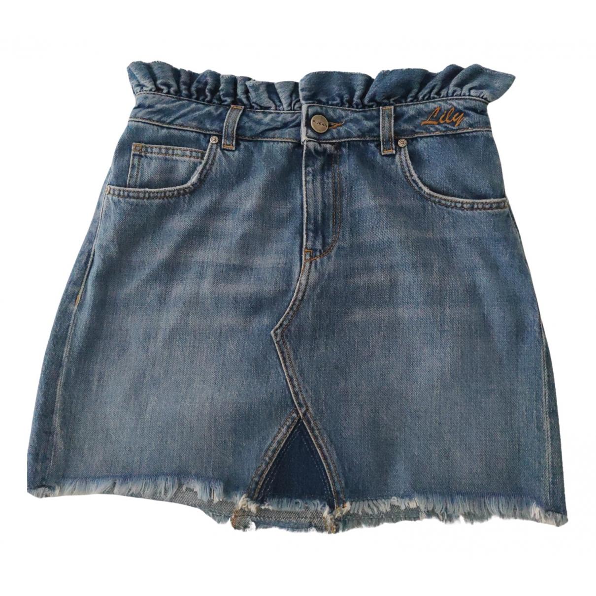 Pinko \N Rocke in  Blau Denim - Jeans