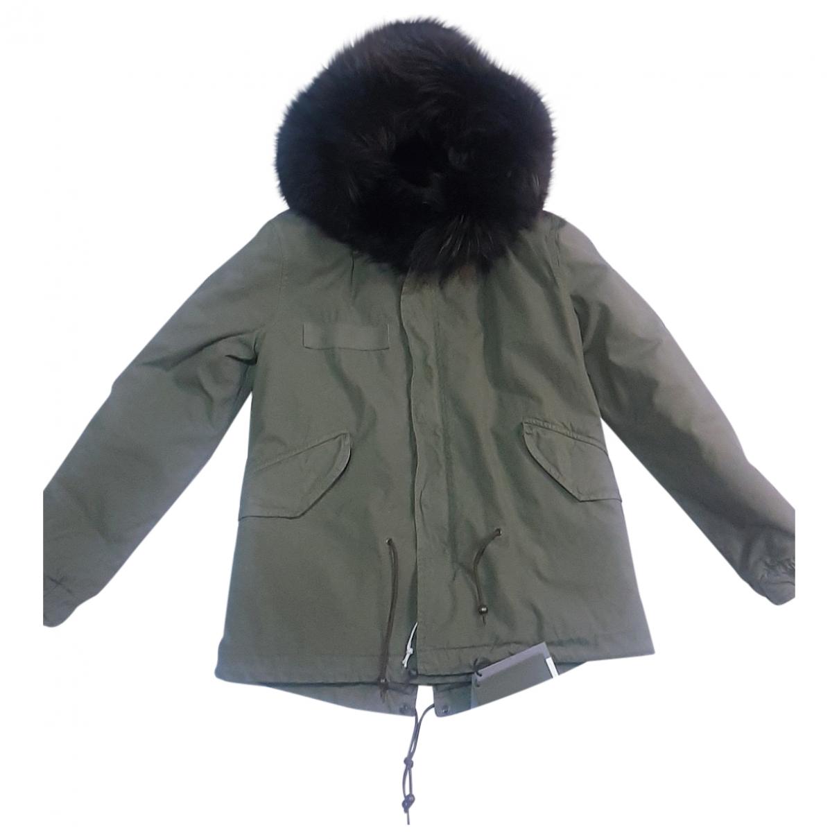 Mr & Mrs Italy \N Green Cotton coat for Women S International
