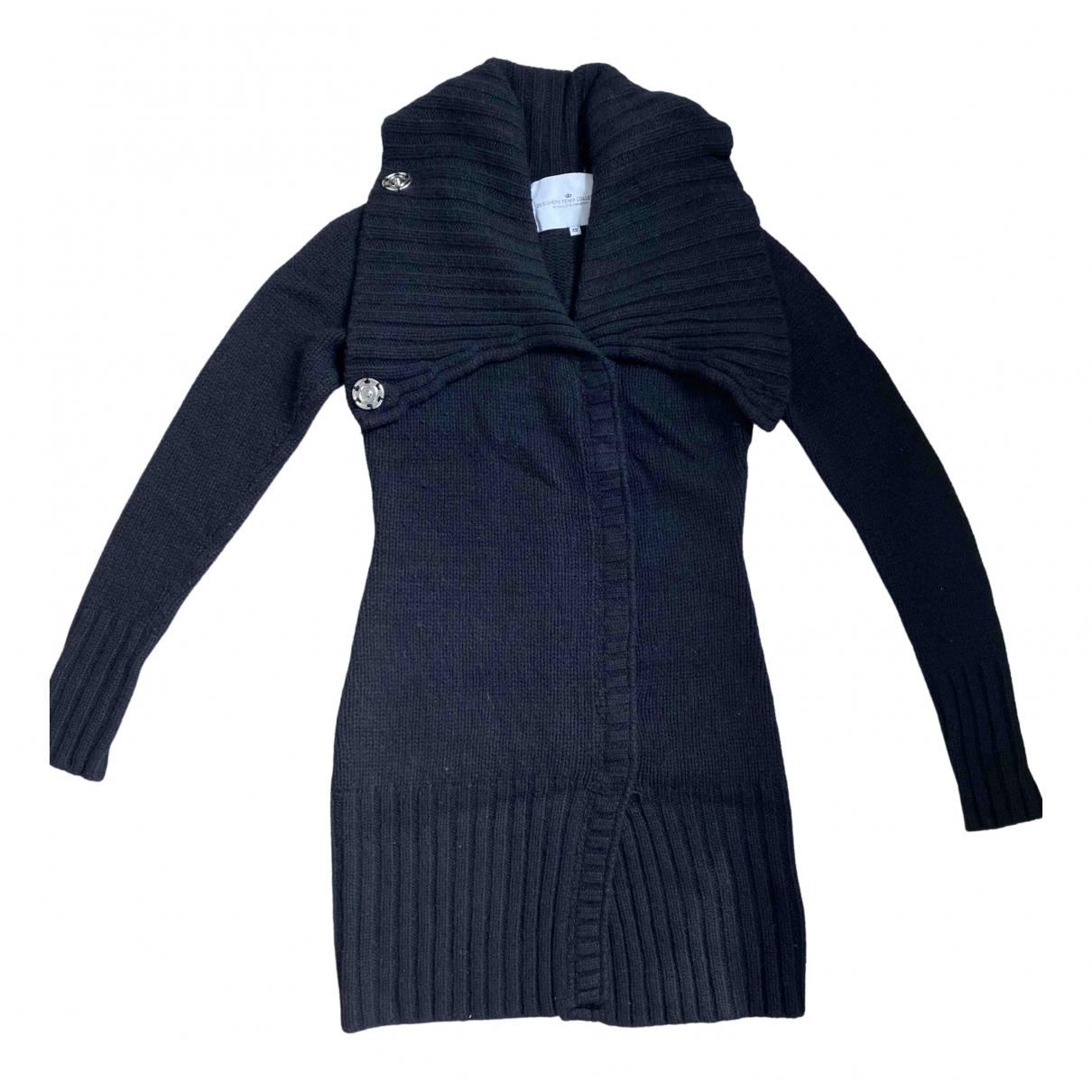 Designers Remix - Pull   pour femme en laine - noir