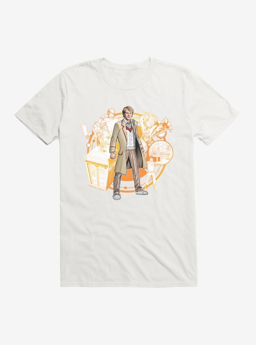 Doctor Who The Fifth Doctor T-Shirt