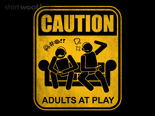 Adults At Play T Shirt
