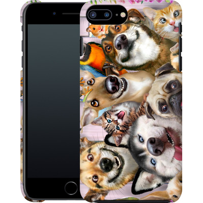 Apple iPhone 7 Plus Smartphone Huelle - Pet Selfie von Howard Robinson
