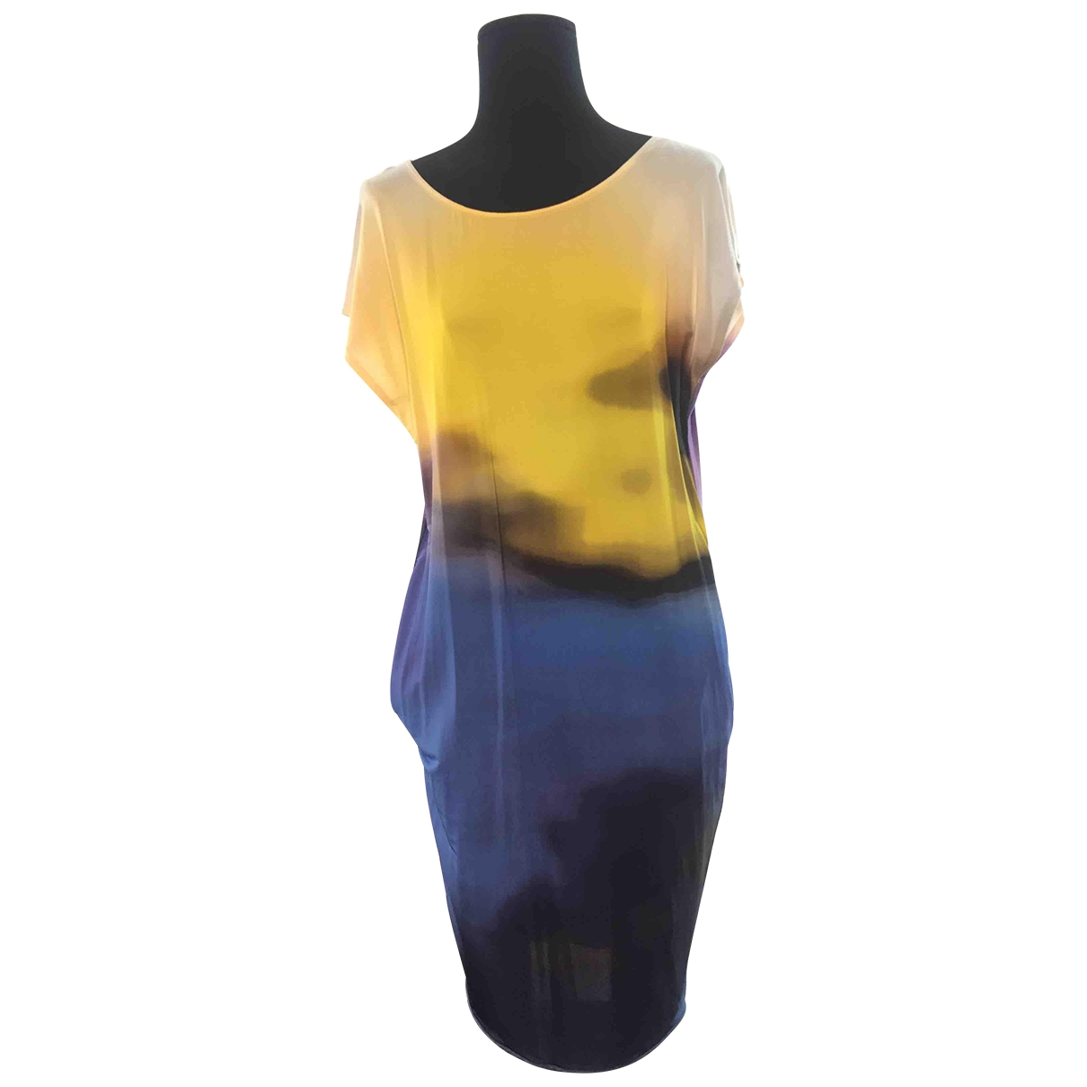 Strenesse \N Kleid in  Bunt Viskose