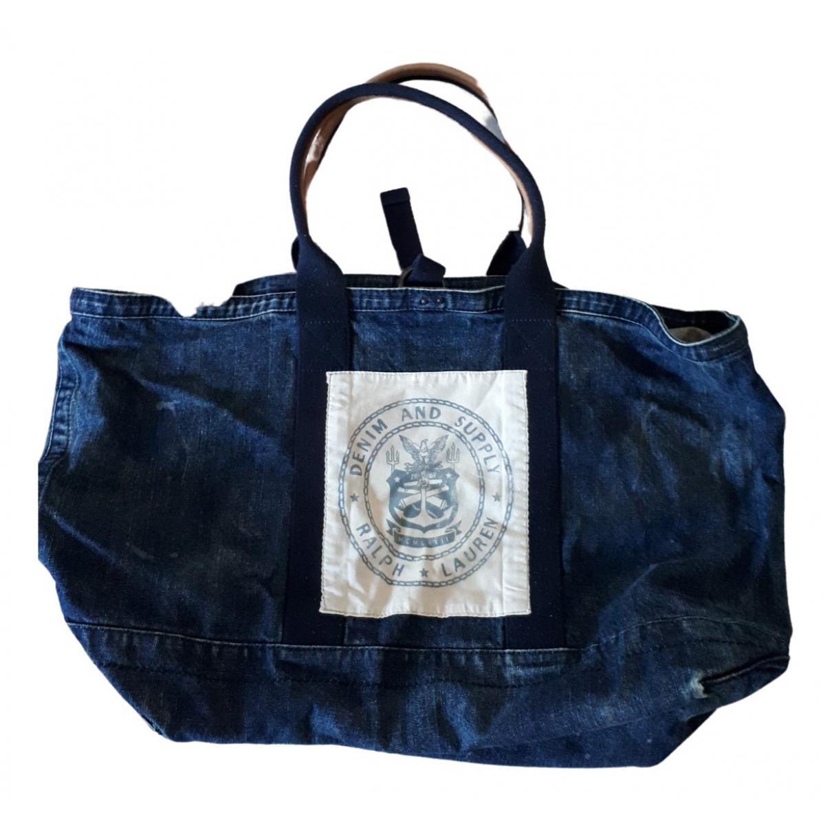 Ralph Lauren \N Blue Denim - Jeans handbag for Women \N