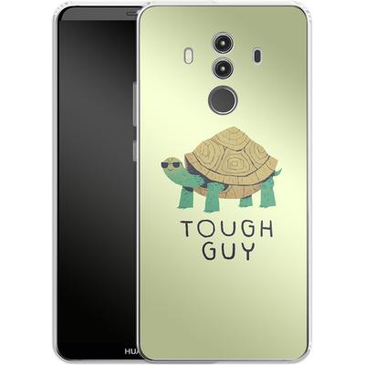 Huawei Mate 10 Pro Silikon Handyhuelle - Tough Guy von Louis Ros
