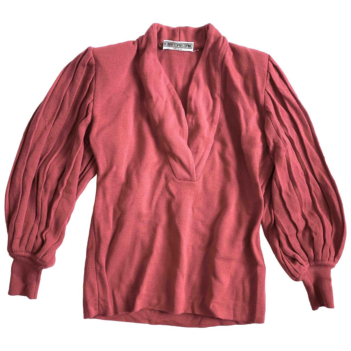 Autre Marque - Pull   pour femme en laine - rose