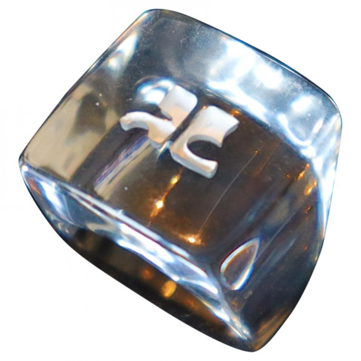 Courreges \N Ring in Kunststoff
