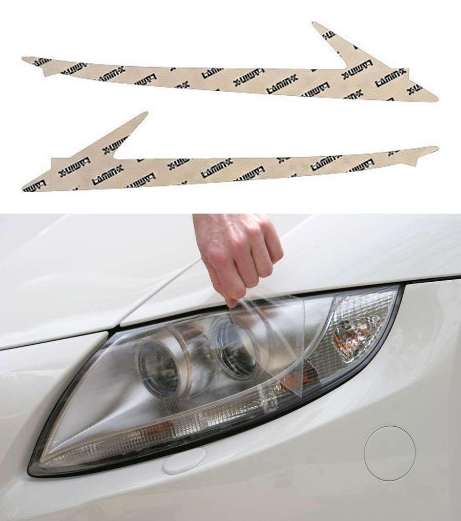 Lexus IS Sedan 14-16 Clear LED Running Light Covers Lamin-X L025CL