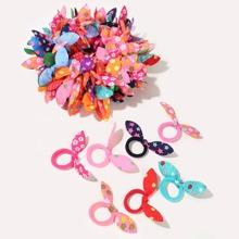 100 Stuecke Kleinkind Maedchen Haarband mit Schleife und Knoten