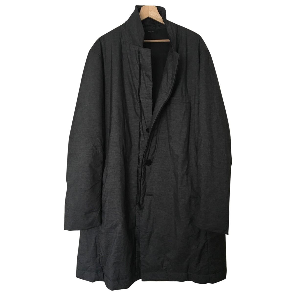 Issey Miyake \N Anthracite coat  for Men 5 0 - 6