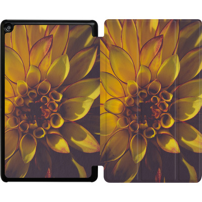 Amazon Fire HD 8 (2018) Tablet Smart Case - Yellow Dahlia von Joy StClaire