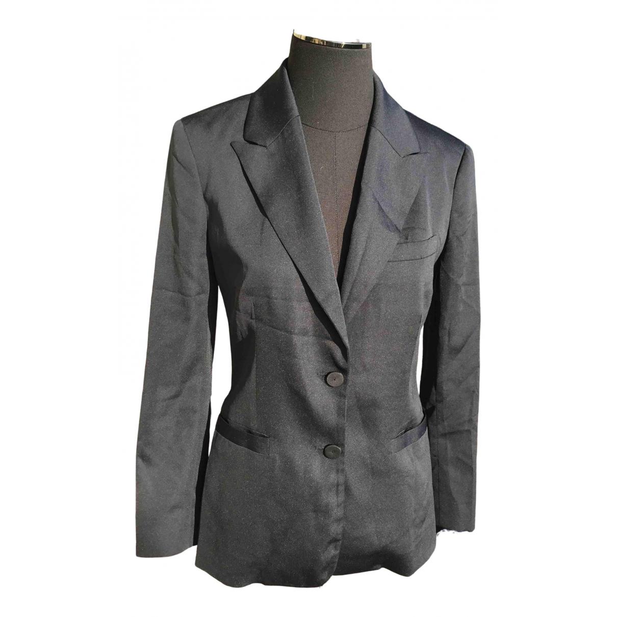 Ermanno Scervino \N Jacke in  Schwarz Polyester