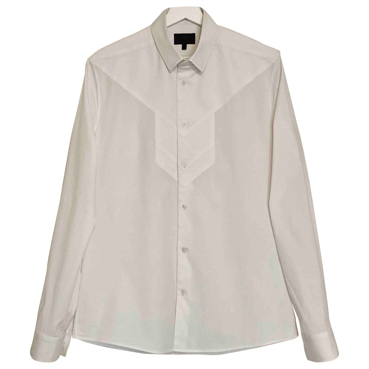 Les Hommes \N White Cotton Shirts for Men M International