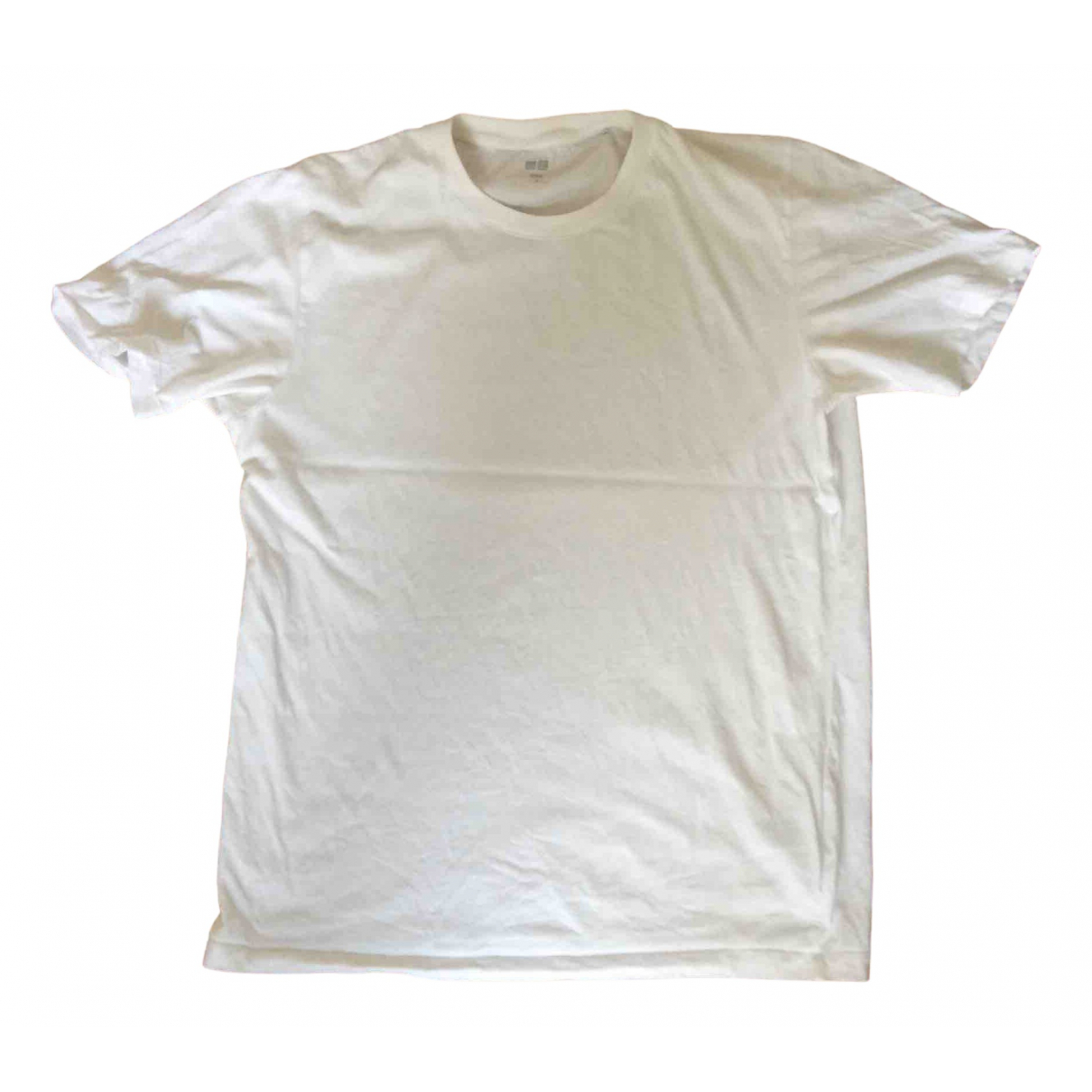 Uniqlo N White Cotton  top for Women L International