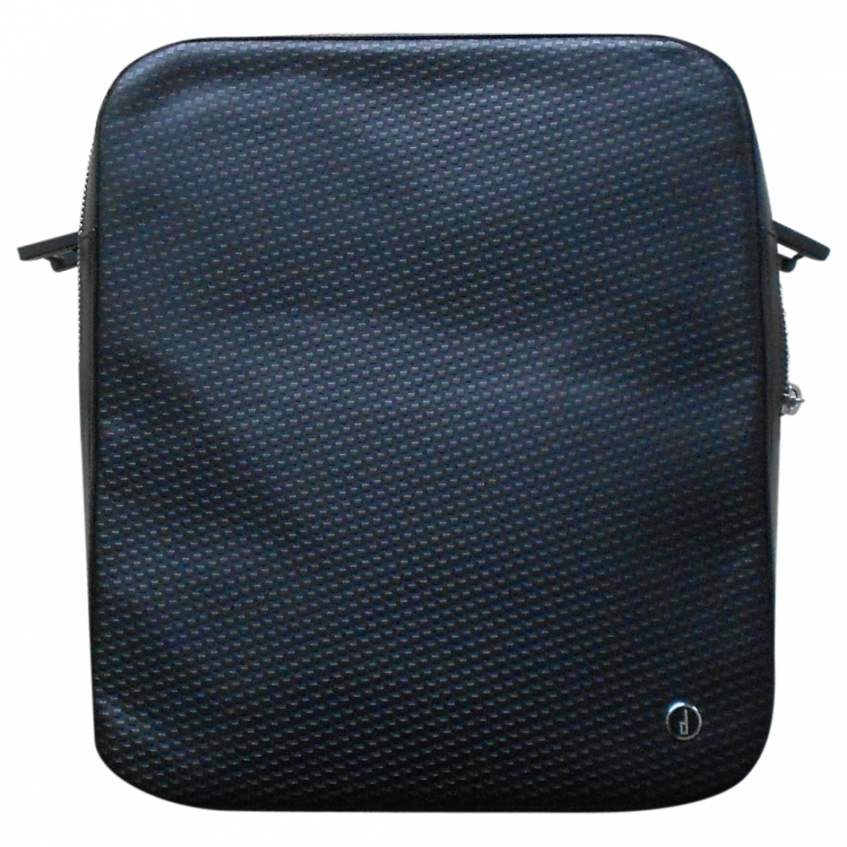 Alfred Dunhill \N Black Leather bag for Men \N