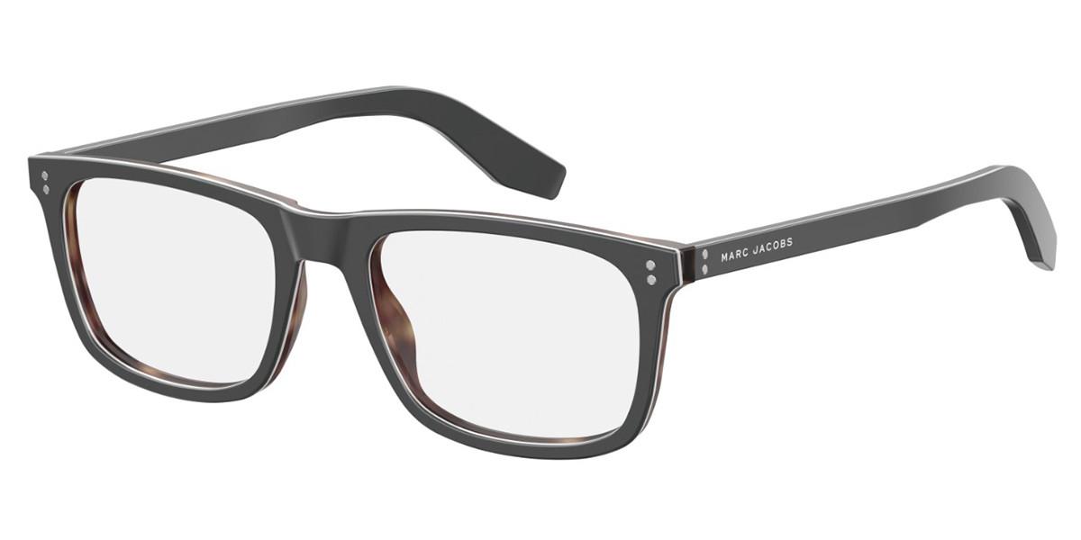 Marc Jacobs MARC 394 KB7 Men's Glasses Grey Size 53 - Free Lenses - HSA/FSA Insurance - Blue Light Block Available
