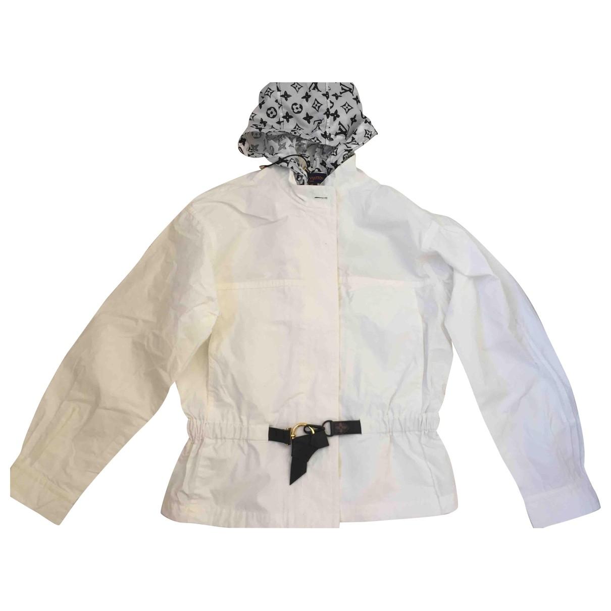 Louis Vuitton \N White Cotton jacket for Women 40 FR