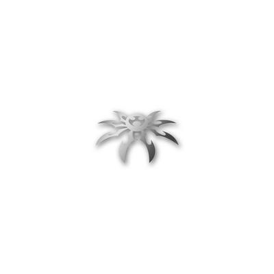 Poison Spyder Spyder Logo Decal in Silver (Silver) - 51-46-032-S
