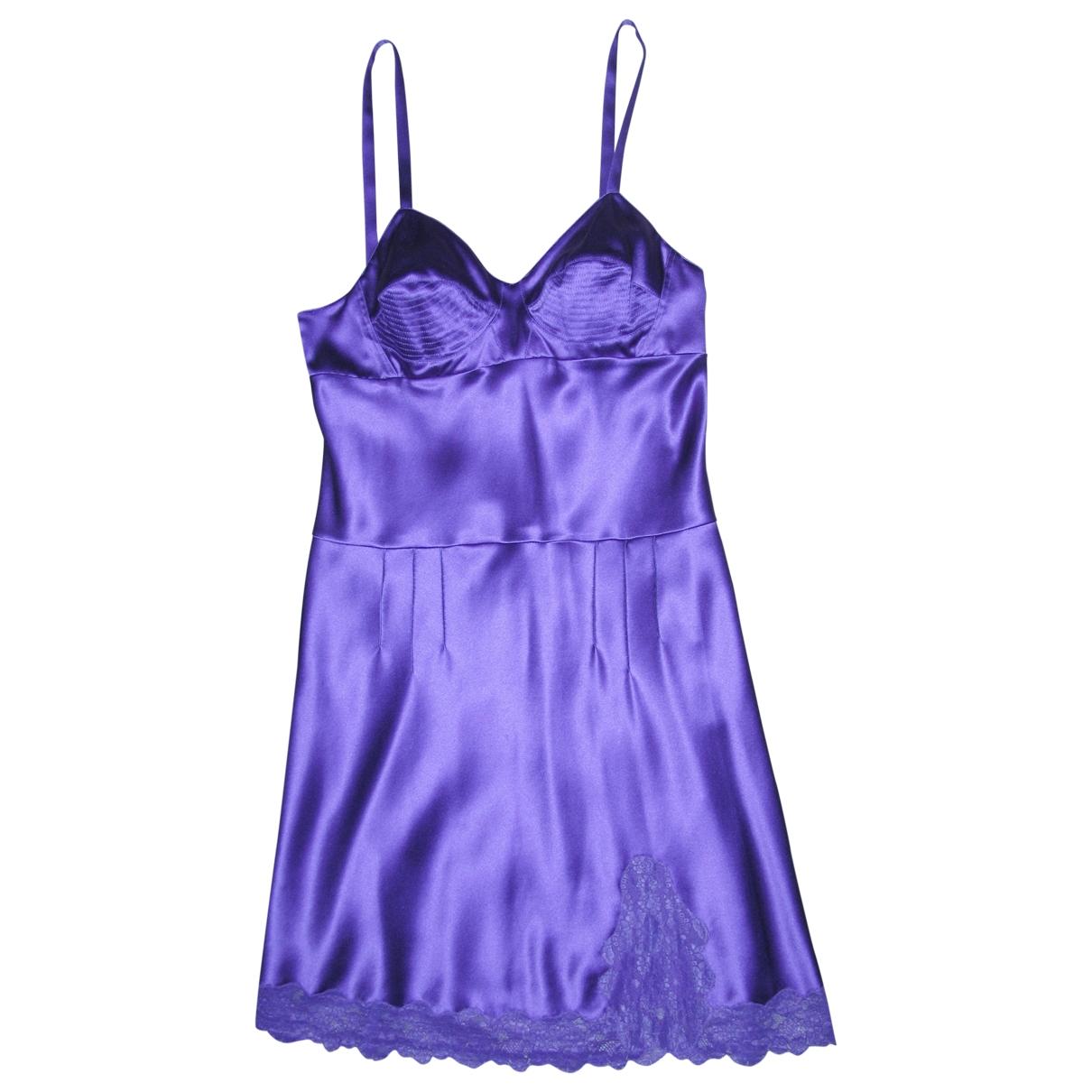 Dior \N Purple Silk dress for Women 40 FR