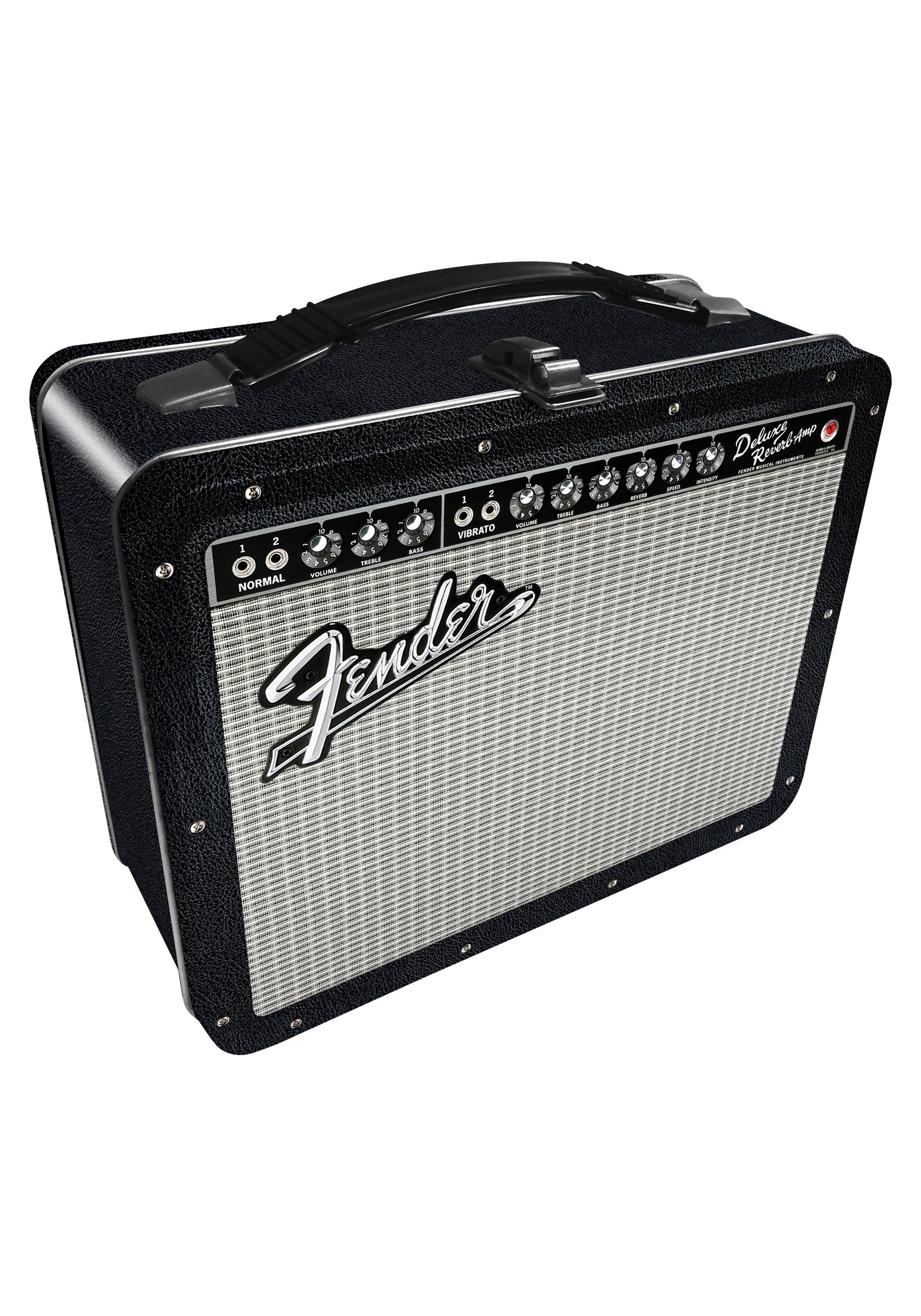 Metal Fender Amp Lunchbox
