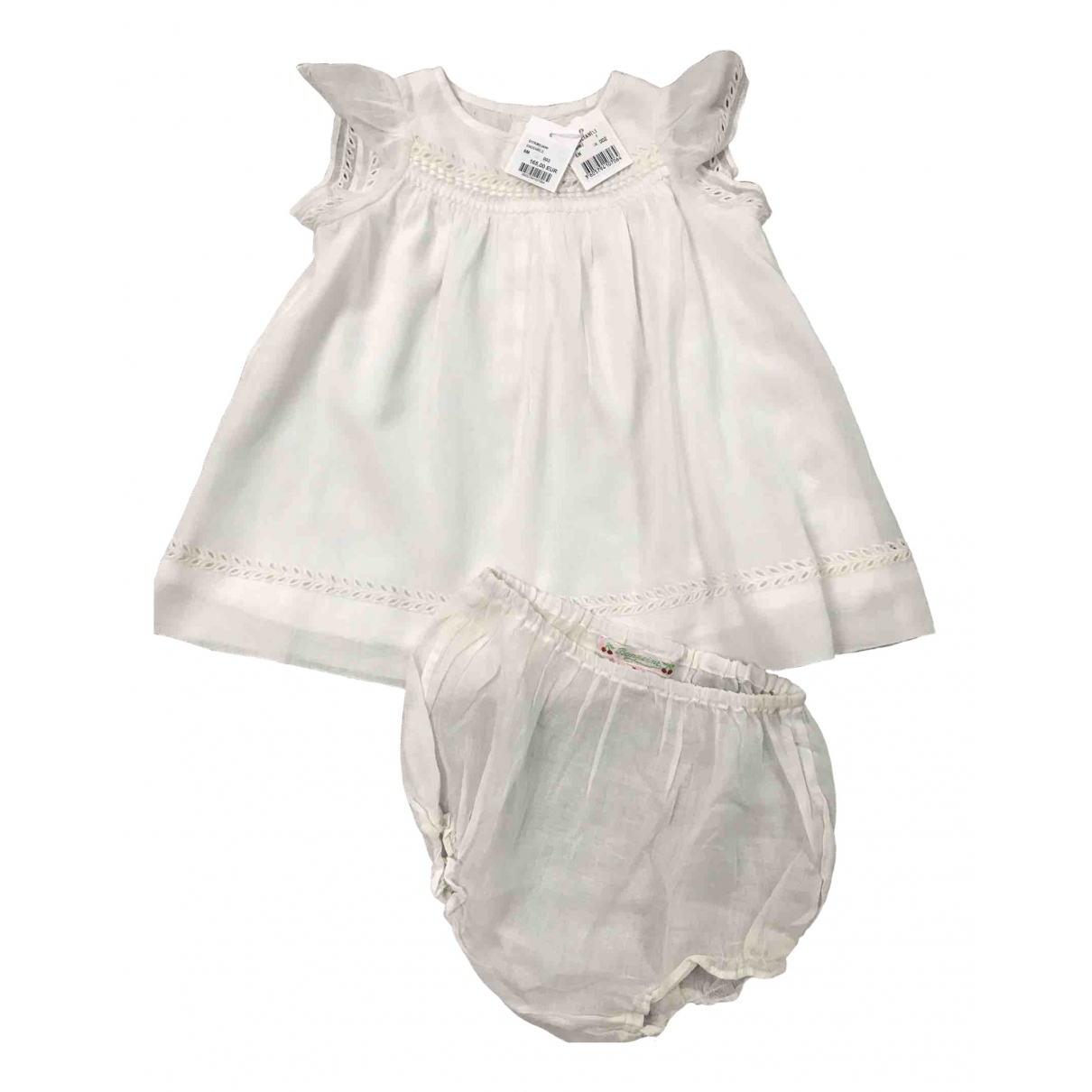 Bonpoint \N Ecru Cotton Outfits for Kids 6 months - until 26.5 inches UK