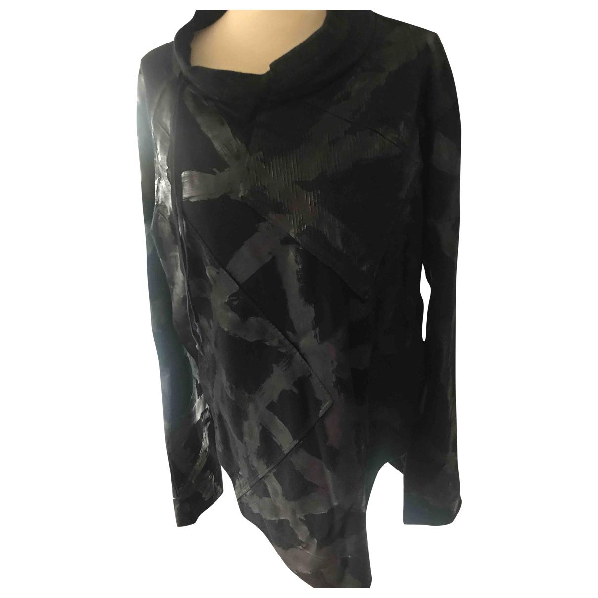 Autre Marque \N Pullover.Westen.Sweatshirts  in  Schwarz Baumwolle