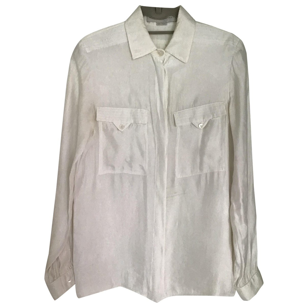 Stella Mccartney \N Ecru  top for Women 42 IT