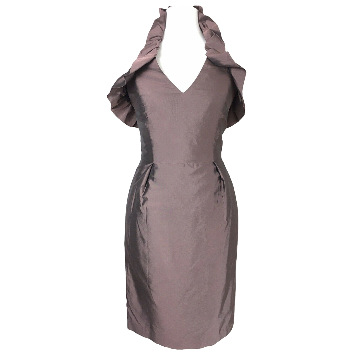 Reiss \N Kleid in  Metallic Polyester