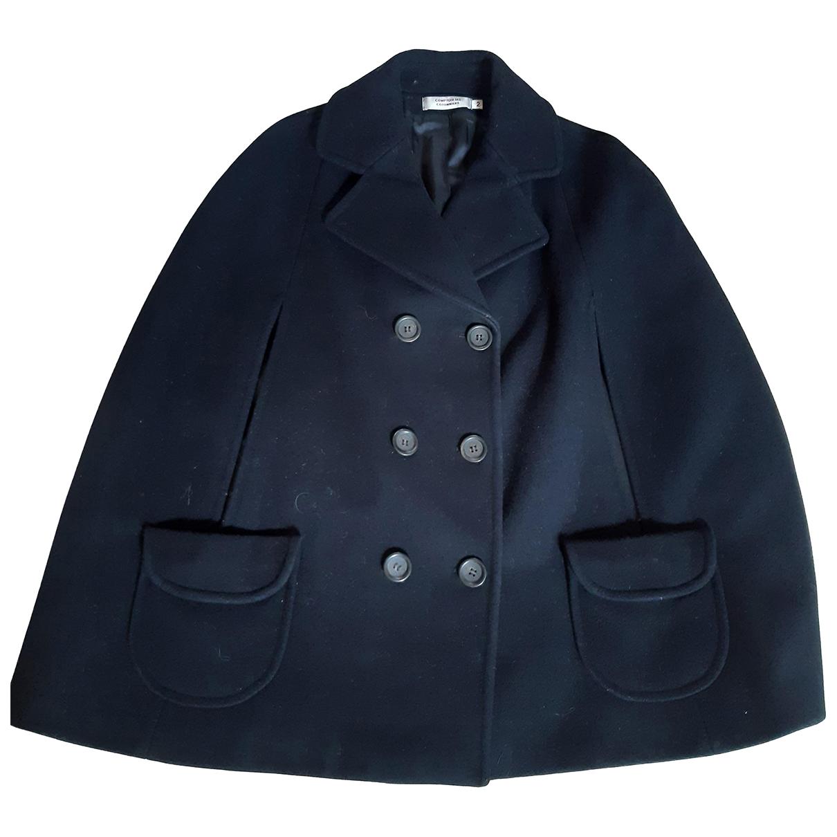 Comptoir Des Cotonniers - Veste   pour femme en laine - noir
