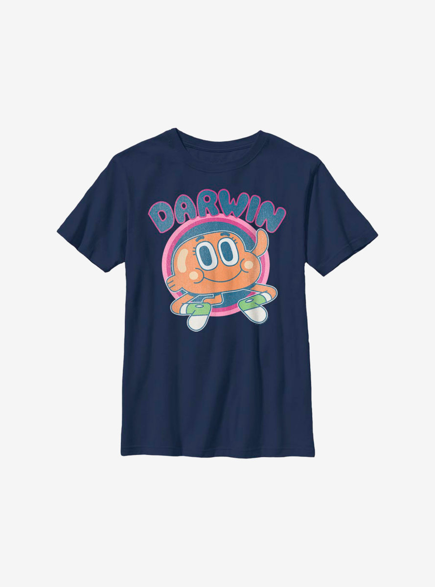 The Amazing World Of Gumball Darwin Hockey Youth T-Shirt