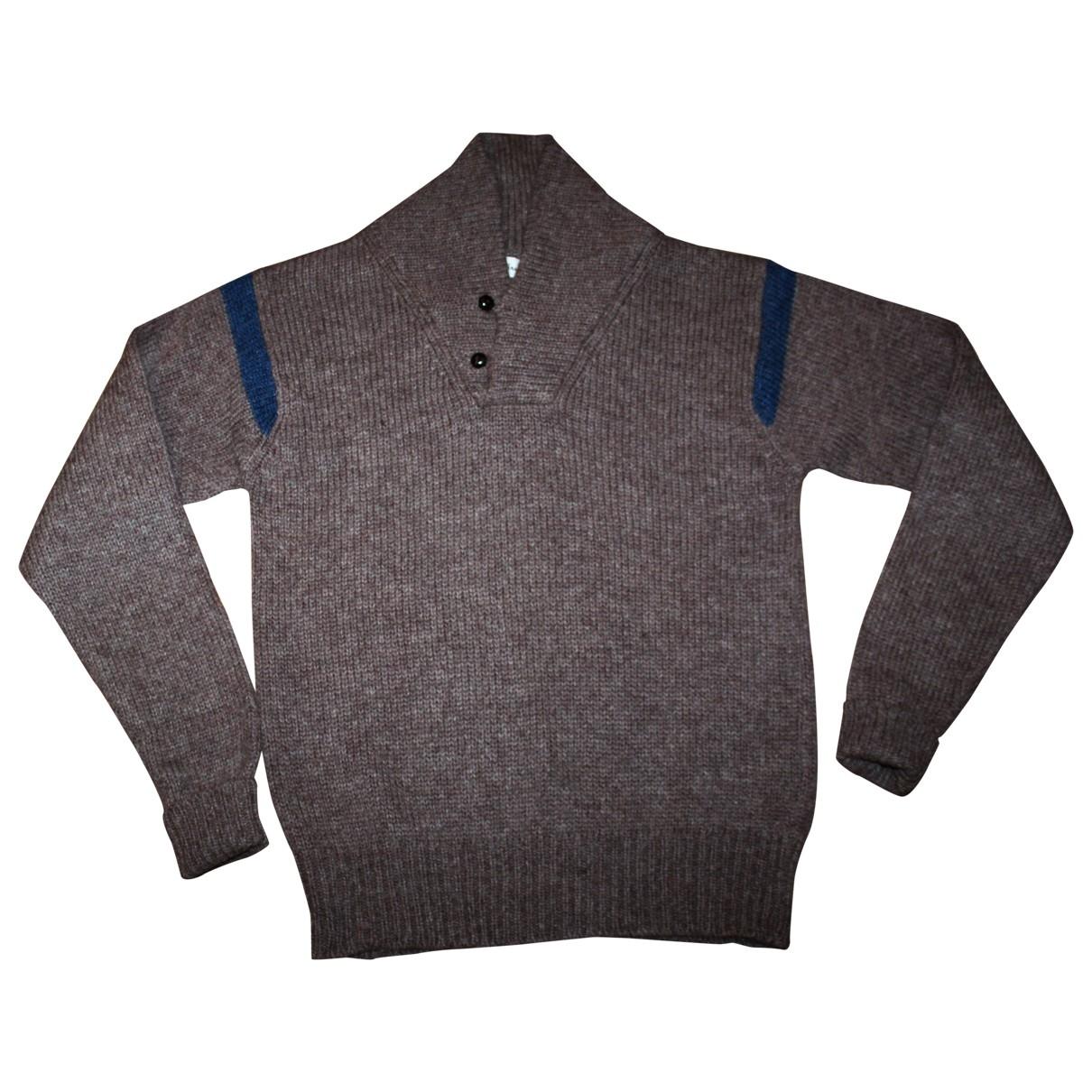 Pringle Of Scotland \N Brown Wool Knitwear & Sweatshirts for Men L International