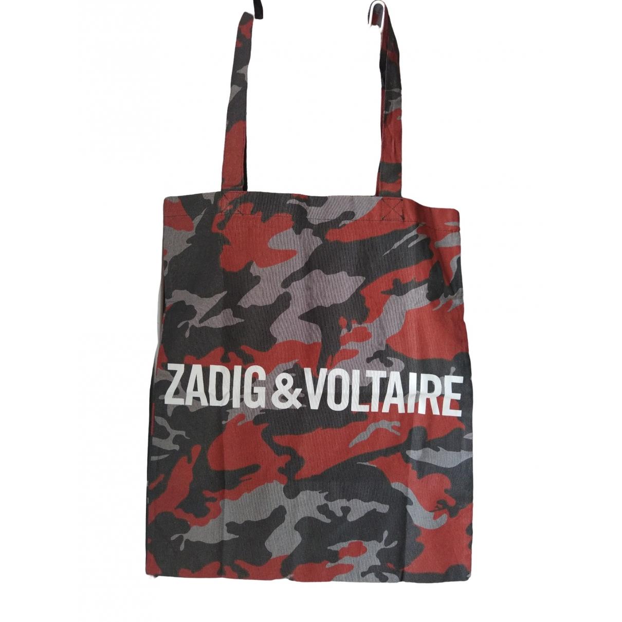Zadig & Voltaire - Sac a main   pour femme en coton - rouge