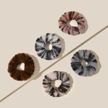 5 piezas goma de pelo de niñitas mullida