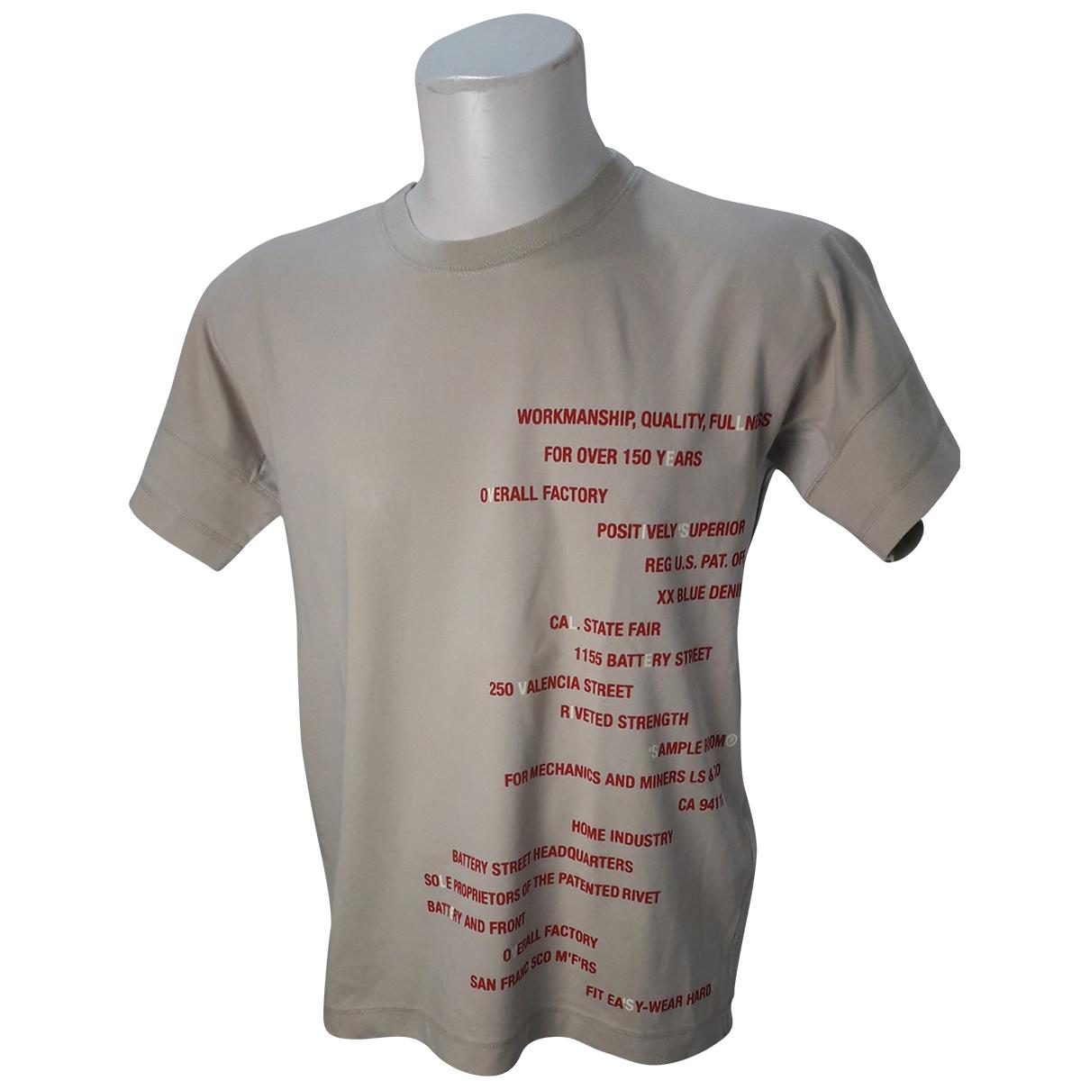 Levis \N T-Shirts in  Beige Baumwolle