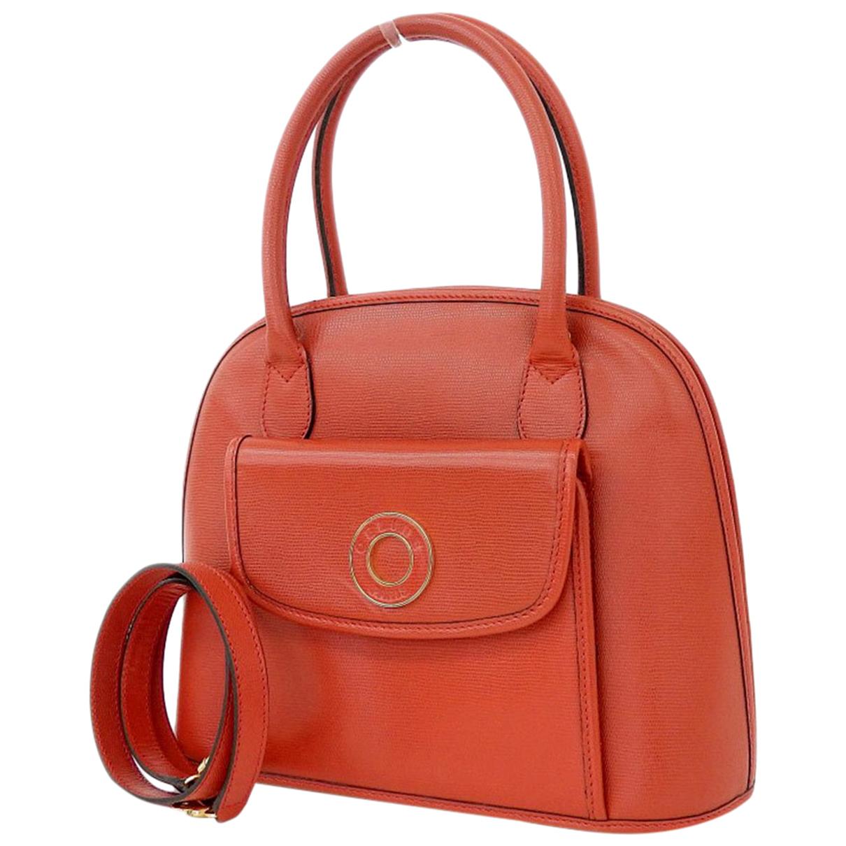 Celine \N Red Leather handbag for Women \N