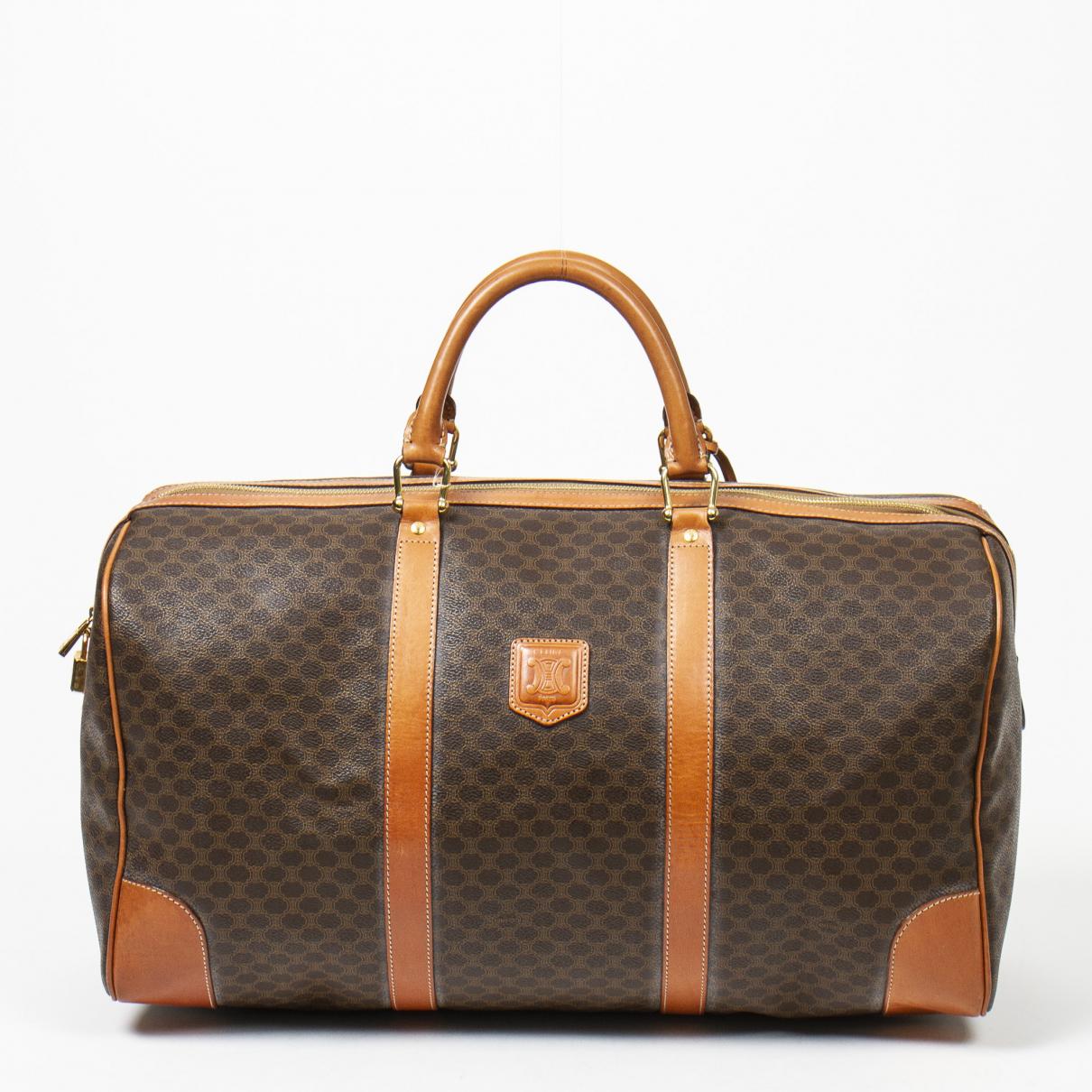 Celine \N Brown Leather handbag for Women \N
