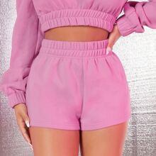 Shorts Liso Casual