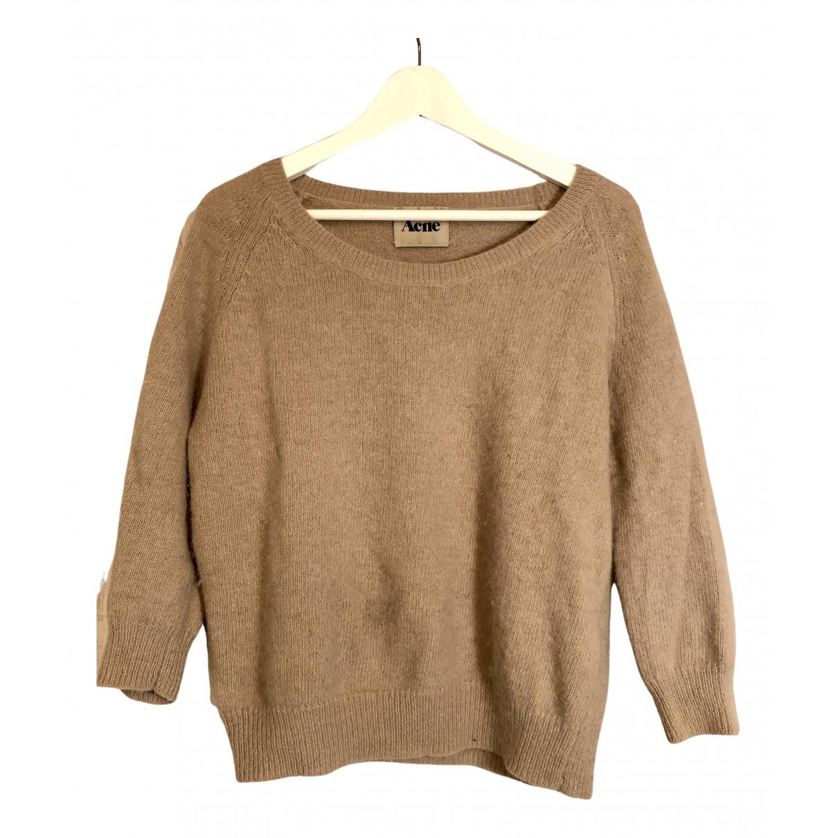 Acne Studios N Beige Wool Knitwear for Women S International