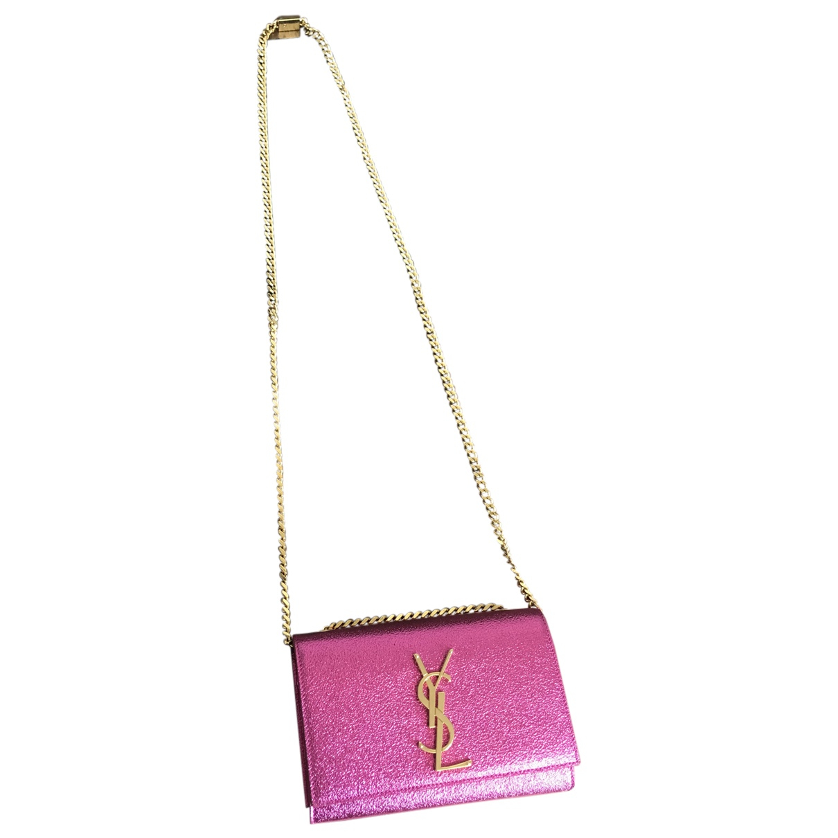 Yves Saint Laurent N Pink Leather handbag for Women N